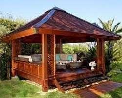 Quiosque madeira valor