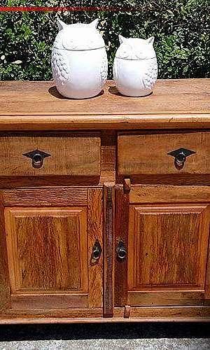 Gabinete banheiro madeira rústica