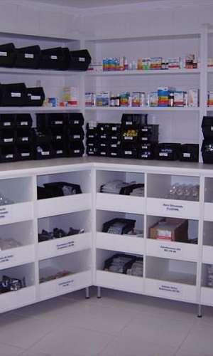 móveis planejados para farmácia