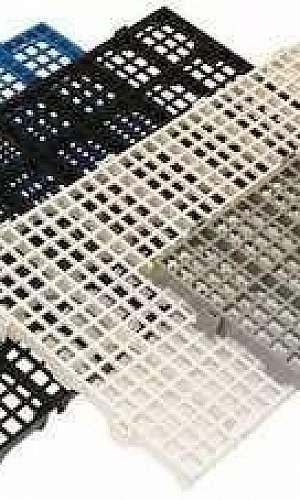 Piso de plástico modular