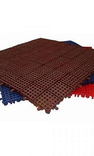 Piso plástico modular preço