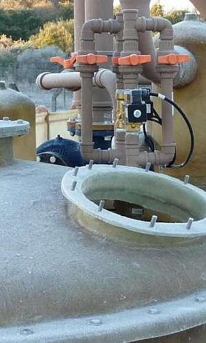 tratamento químico da água